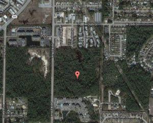 Map of Jenks Avenue near 26th Street